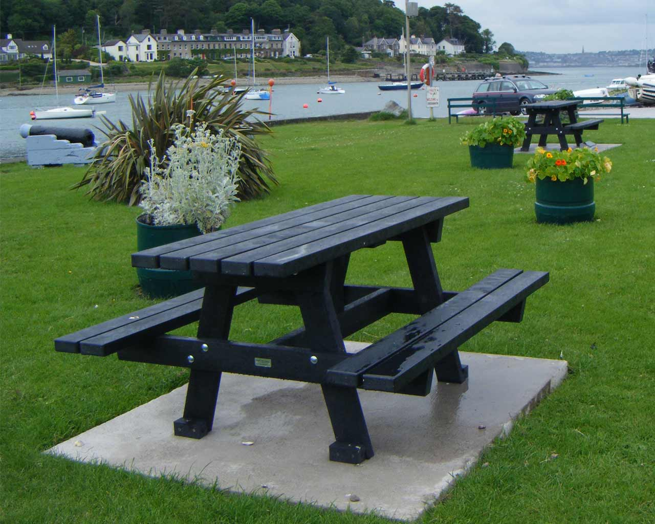 A Frame Picnic Table Murray S Recycled Plastic