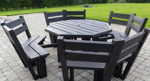 Garden Furniture Kilkenny maintenance free plastic products - murray's recycled plastic
