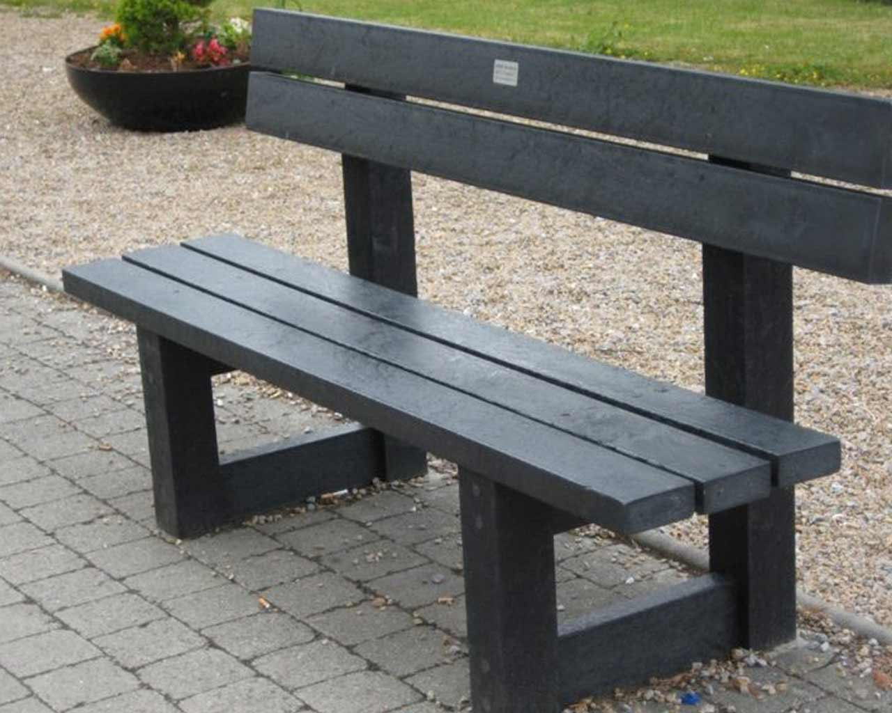 Claggan Bench With Back