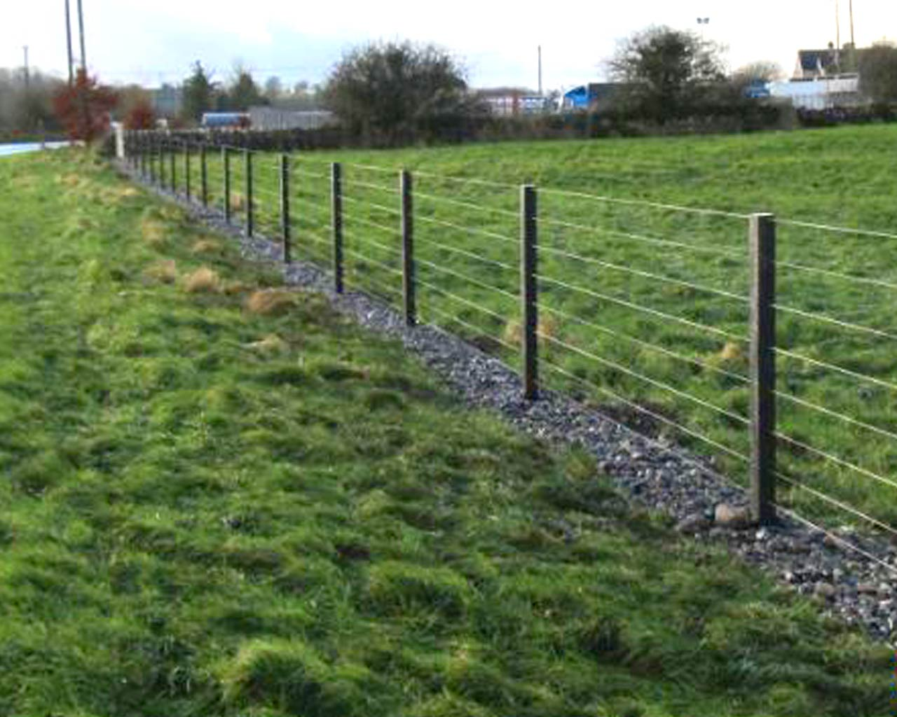 Post Amp Wire Fencing Murray S Recycled Plastic