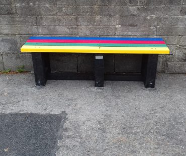 Coloured Strand Bench 5