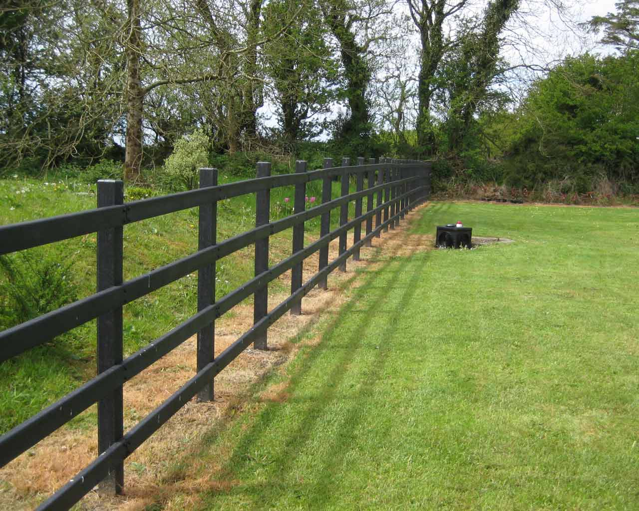 4 Rail Fencing Murray S Recycled Plastic
