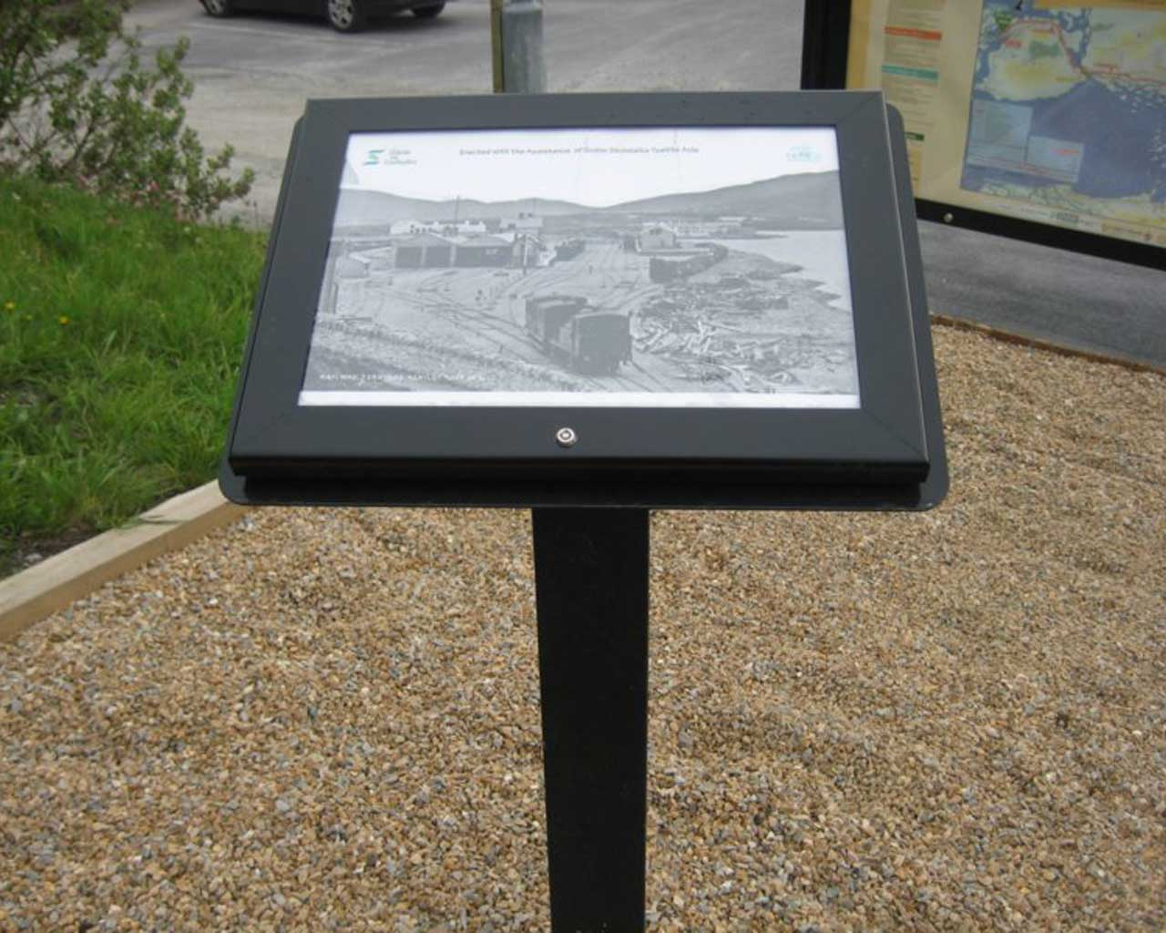Information Boards Murray S Recycled Plastic