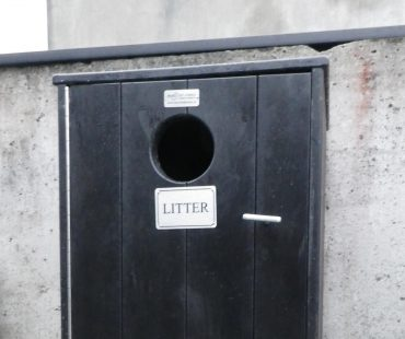 Litter Bin Without Ashtray