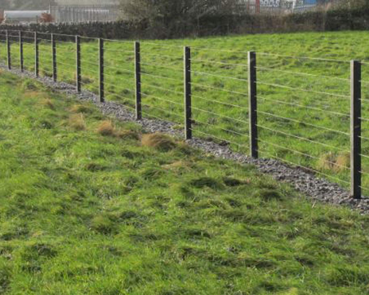 Post & Wire Fencing