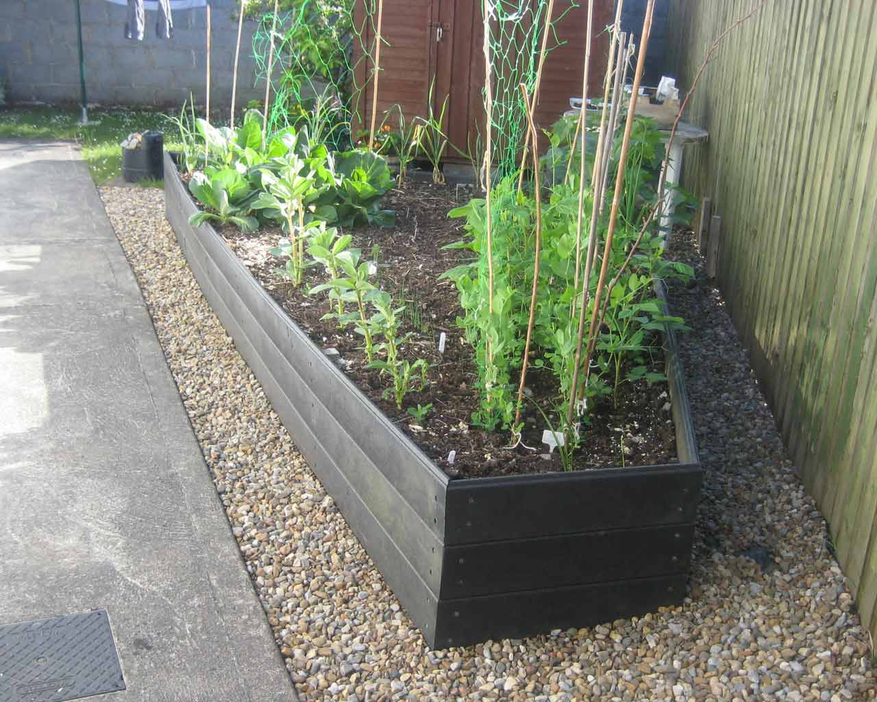 Raised Beds Murray S Recycled Plastic